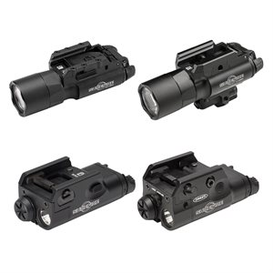 SUREFIRE X SERIES WEAPON LIGHTS & LASERS